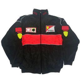 F1 Jacket Jacket 2021 Nieuw product Casual Racing Pak Trui Formule Eén Jas Winddicht Warmte en Winddicht