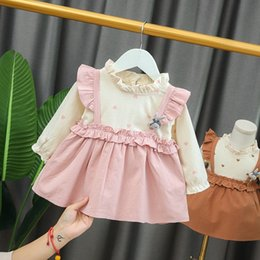 12 months year old baby clothes Australia - autumn dress 0-1-2-3 years old baby foreign style clothes 6-12 months 7 Girls 8 princess skirt 9 fashion