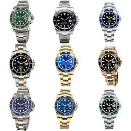 Mechanical Watch 3135 3235 Men Watches Automatic Luminous Men's 40mm Ceramic Bezel Chronograph Sport Stainless Steel Strap Sapphire Mirror Waterproof