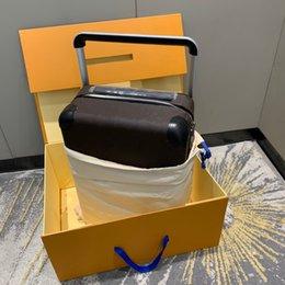 Viaggio valigia bagaglio classico Brand designer di lusso moda unisex bag tronco borse floreale lettere box box box spinner universale rotella borse borse in Offerta