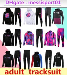 21 22 paris hoodie tracksuit Survetement 2021 chandal futbol MBAPPE football jacket 20 21 soccer set on Sale
