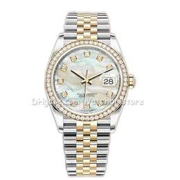 Wholesale Watchbr-41mm 36mm Automatic Mechanical 31mm 28mm Quartz Customizable Watches Bezel Stainless Steel Women Diamond Lady Watch