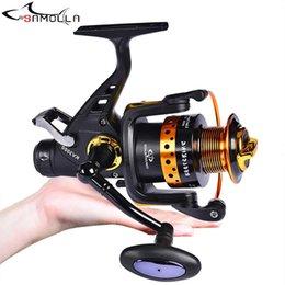 Bis Metal Spinning Reel 13 + 1BB Fishing Pesca Strong Drag Moulinet Peche En Mer Carp Carretilha De Olta Makaralar Baitcasting Reels on Sale