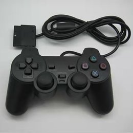 Wholesale Wired Controller Handle for PS2 Vibration Mode High Quality Game Controllers & Joysticks Applicable Products PS2 Host Black Color