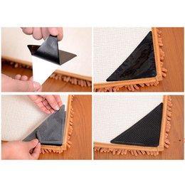 Amplio antideslizante Amplio anti rizado Alfombra Accesorios para pisos: Mantenga su alfombra en su lugar Hacer esquina plana OWD6397 en venta