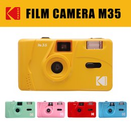 Wholesale M35 Camera Non-disposable Cameras 135 Film Fool with Flash Student Retro Films Machine