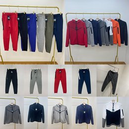 Tech Fleece Mens Sports Pants Hoodies Jackets Space Cotton Trousers Womens Tracksuit Bottoms Man Joggers Running pant High Quality Muti Colors
