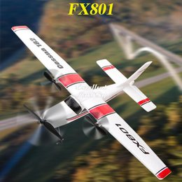 FX801 Remote Control Fixed Wing Glider, DIY Educational Aircraft Toy, Fall& Impact Resistant EPP Material, Christmas Kid Birthday Boy Gift, USEU on Sale