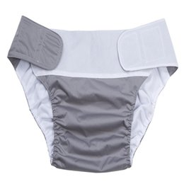 Cloth Diaper Adjustable Wash Diapers Adults Reusable Covers Elderly Waterproof Napkin Nappy Diaper Briefs Shorts Panties Pants B2813 114 Y2 on Sale