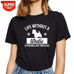 Wholesale women xxx for sale - Group buy T Shirt Women dog life without a xxx is pointless Design Vintage Cotton Female shirt Party Av5e