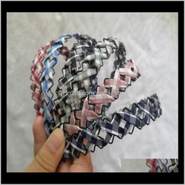 Wholesale cloths irons for sale - Group buy Bun Maker Aessories Tools Products Drop Delivery Summer Style Korean Style Fashion Hollow Out Iron Wire Weaving Handmade Around Cloth