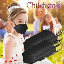 Discount black no face mask 4-10 Years Kids Black Face Masks Protection Safe Anti-dust Pm2.5 Mascsrillas Filtro Maseczka Mascaras No Decoration