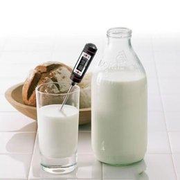 Ingrosso 5.9inch Food Grade Schermo LCD Habor Digital Carne Termometro BBQ Hold Funzione per la cucina Cottura Griglia Acqua di latte di caramelle