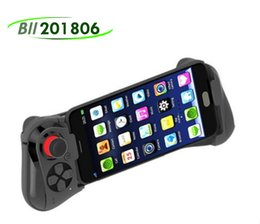 Latest Gamepad-058 Gamepad Bluetooth Game Gaming Joystick Controller Shutter Remote Control for IOS& Andriod Smart Phone TV BOX tablet pc on Sale