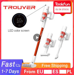 [EU In Stock] TROUVER Power 11 Solo10 Handheld Vacuum Cleaner For Home Car Wireless Sweeping 120AW 20000Pa Strong cyclone Suction Multi Brush Catcher