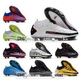 Wholesale elite fit resale online - GIFT BAG Mens High Ankle Football Boots Phantom GT Elite FG Cleats Outdoor Dynamic Fit AG Scorpion Soccer Shoes