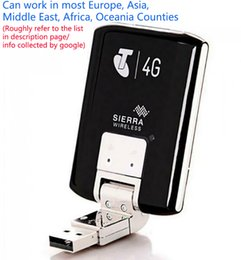Wholesale Unlocked Wireless Modem Aircard Sierra 320U 4G LTE Modem WIFI 100Mbps WCDMA Wireless USB Dongle Network