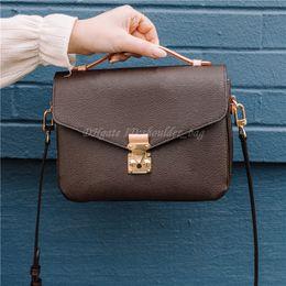 Fashion Lady Shoulder Messenger Bag Flap Square Totes Handbags Purses Wallet Postman Crossbody Shopping Wallets Women Luxurys Designers Bags 2021 Handbag Purse on Sale