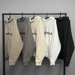 2021 Sweats à capuche chaude Habille Mens Streetwear Streetwear Pulls Sweatshirts Amoureux desserrées Tops Printemps Summer Oversize Courtes Essentials Vêtements Vêtements en Solde