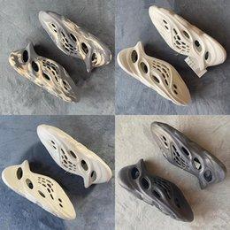 Foam Runner Mineral Blue Sandal Slide Slippers Runr MX MXT Cream Moon Gray Ararat Sport Schoenen Desert Zand Mens Dia's Strand Big Size 36-47 4-12