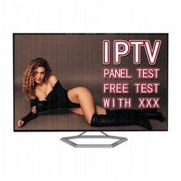 Großhandel IPTV M3U 12Monaths Abonnement Smart TV 4K Android Box Reseller Panel mit kostenlosem Test