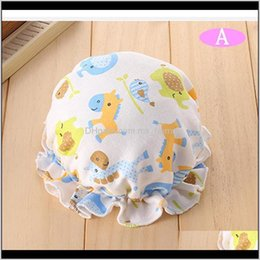 toddler boys sun hats UK - Caps Hats Aessories Baby, Kids & Maternity2Pcs Lot Fashion Spring And Autumn 0-4 Months Cute Toddlers Baby Girls Flower Sun Cap Summer Cotton