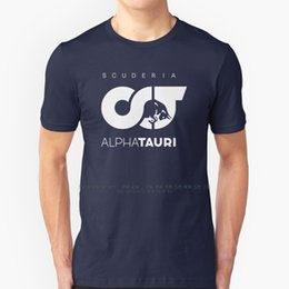 driving t shirts Australia - T Shirt 100% Pure Cotton Big Size Alpha Tauri Scuderia Alphatauri Pierre Gasly Racing Drive To