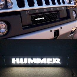 venda por atacado Badge Emblem Drl Dia Executando Luz Capa Grelhados Grelhados Grill LED Logo Lâmpada para Hummer H1 H2 H3