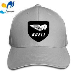 Snapback Curved Denim Caps Mens Womens Baseball Hat Custom Buell-Motorcycle-Logo