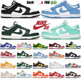SB Dunks Running Shoes Low Easter Syracuse Coast Black White Green Kentucky Chunky Dunky Elephant University Blue Mens Skate Sports Sneakers Dunk Womens Trainers on Sale