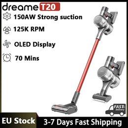 Dreame T20 Handhållen Trådlös dammsugare Intelligent All-Surface Borste 25kPa Allt i en dammkollektor Golvmatta Aspirator