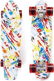 Опт EYCI 22Complete скейтборд, очень гибкий скейтборд, который подростки мальчики и девушки любят