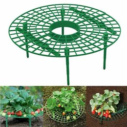 plastic green vines Australia - Planters & Pots Strawberry Growing Circle Support Rack Plant Plastic Tool Frame Holder Flower Climbing Vine Pillar Gardening Stand