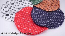 Low Moq Custom Adjustable Fashion Double Layer Satin Silk Velvet Large Women Shower Cap Sleeping Hair Cap Bonnets Hats with Logo