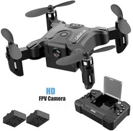 Wholesale Mini Drone With Without HD Camera Hight Hold Mode RC Quadcopter RTF WiFi FPVQuadcopter Follow Me RC Helicopter Quadrocopter Kid'