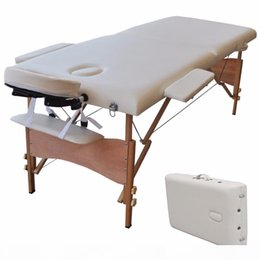 Portable Massage Bed Table SPA Tattoo Folding Bed Carry Case 2 in 1 Length 84 Inch Wide 32 Inch Ship From USA on Sale