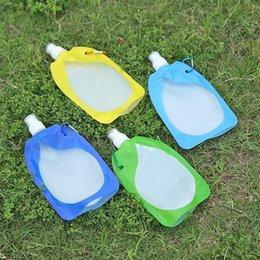 venda por atacado Newfolable Dobrável Colapsível Bebendo Carro Bag Water Carrier Recipiente Ao Ar Livre Camping Caminhada Piquenique Saco Líquido EWF7643