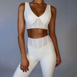 Wholesale sheer yoga pants resale online - Designer Yoga Sportwear Tracksuits Fitness sheer Bra shirts tops full Leggings outdoor outfits Sport align pants gym wear Clothing suit yogaworld runing set summer
