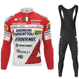 cycling jerseys italy 2021 - Spring Autumn Androni Cycling Jersey Set Long Sleeve 2021 Italy Tour Clothing Men Road Bike Suit MTB Pants Wear Racing Sets