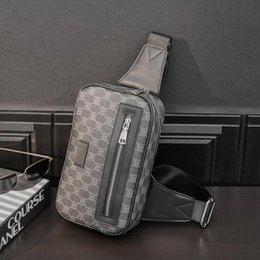 Wholesale Factory wholesale men bag outdoor sports and leisure printing messenger handbag street trend plaid shoulder bags simple wild striped purse