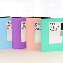 64 cepler polaroid fotoğraf albümü picture vaka mini film mini polaroid albümü