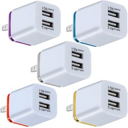 Wholesale Fast Adaptive Wall Charger 5V 2A USB Wall Charger Power Adapter for smart mobile phone android phone