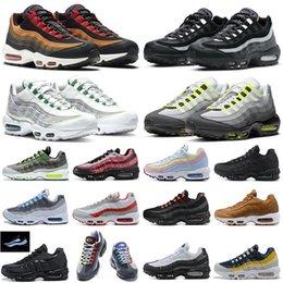 Toptan satış air max 95 95s airmax95 Shoes Koşu Ayakkabıları erkek Kadın Gerileme Gelecek Açgözlü Üçlü Beyaz Sarı Çekme Sekmesi Siyah Kırmızı Bred Tasarımcı Spor Sneakers 36-45