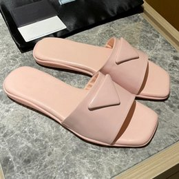 shoes metal soles UK - Designer Mules Princetown Flat soled casual shoes cowhide Metal buckle Ladies shoes Genuine leather women Trample Lazy shoes women size35-41