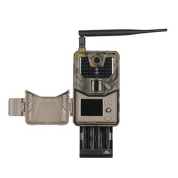 Wholesale 20Mp 1080P Wildlife Trail Camera Photo Traps Night Vision 2G SMS MMS SMTP Email Cellular Hunting Cameras HC900M Surveillance Cam