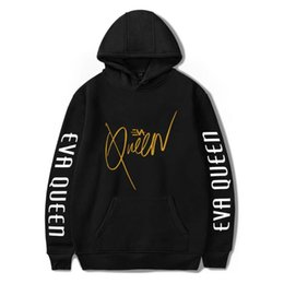 boy s hoodies sweatshirts UK - Women's Hoodies & Sweatshirts Eva Queen Women Men Casual Streetwear Boy Girl Sweatshirt Sudadera Hombre Hoody Kids Full Guys Tops