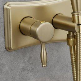 Опт Энергосберегающая из нержавеющей стали туалет ручной биде набор распылителей горячей и холодной воды