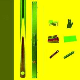 Ingrosso Porcellana Omin Snooker Cue Legend Model 9.5mm Suggerimento 147 cm Lunghezza con custodia Set Billiard Segnali