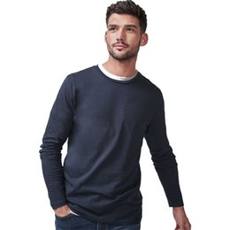 free t shirts designs UK - T Shirt High 100% Soft Cotton Design Men Quality Tshirts Long Sleeves