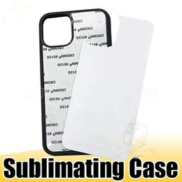 Wholesale ip covers resale online - Fast Ship D Sublimation Hard Plastic DIY Designer Phone Case PC Sublimating Blank Back Cover for iP XS MAX Samsung Note20 FY3003